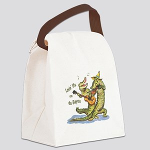 On da Bayou Canvas Lunch Bag