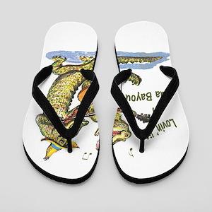 On da Bayou Flip Flops