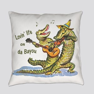 On da Bayou Everyday Pillow
