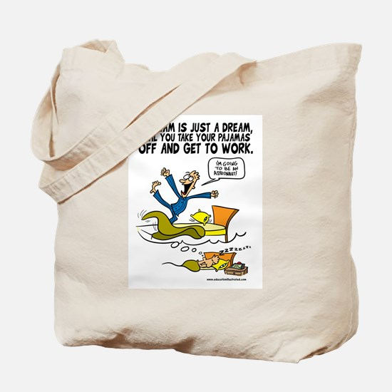 Get to Work Tote Bag