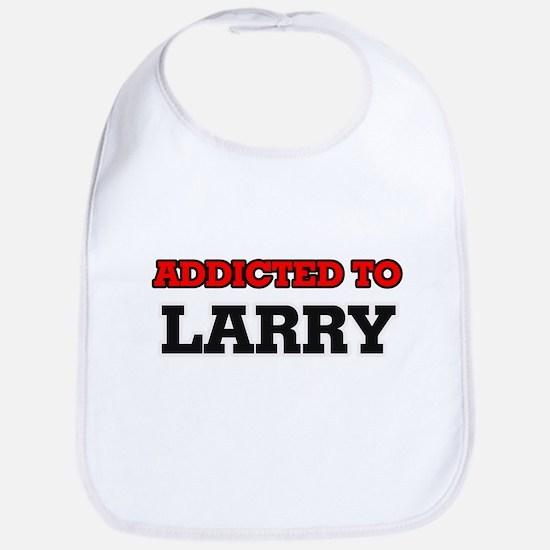 Addicted to Larry Bib