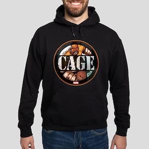 Luke Cage Badge Hoodie (dark)