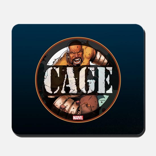 Luke Cage Badge Mousepad