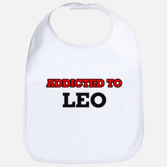 Addicted to Leo Bib