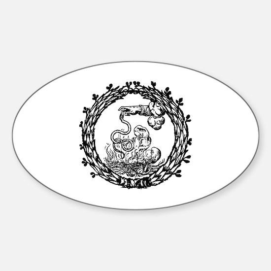 Cute Magik Sticker (Oval)