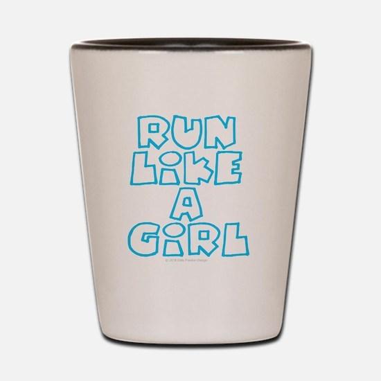 Cute I like girls Shot Glass