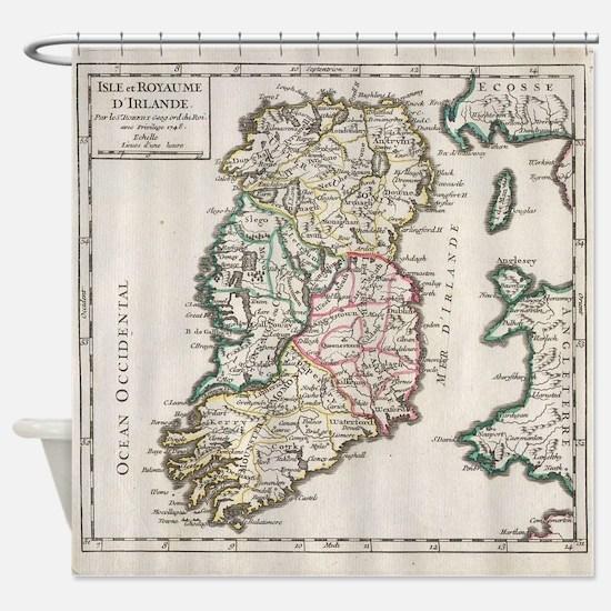 Cute Irish history Shower Curtain
