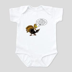 No Meat Yet Turkey Infant Bodysuit