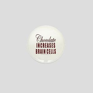 Chocolate Brain Cells Mini Button
