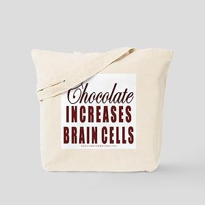 Chocolate Brain Cells Tote Bag
