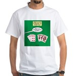 Rummy Expression White T-Shirt