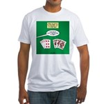 Rummy Expression Fitted T-Shirt