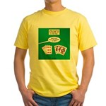 Rummy Expression Yellow T-Shirt