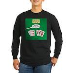 Rummy Expression Long Sleeve Dark T-Shirt