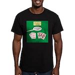 Rummy Expression Men's Fitted T-Shirt (dark)