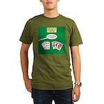 Rummy Expression Organic Men's T-Shirt (dark)