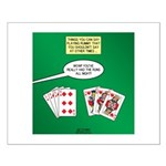 Rummy Expression Small Poster