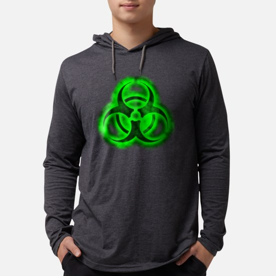 glowingBiohazardGreenTCrop Long Sleeve T-Shirt