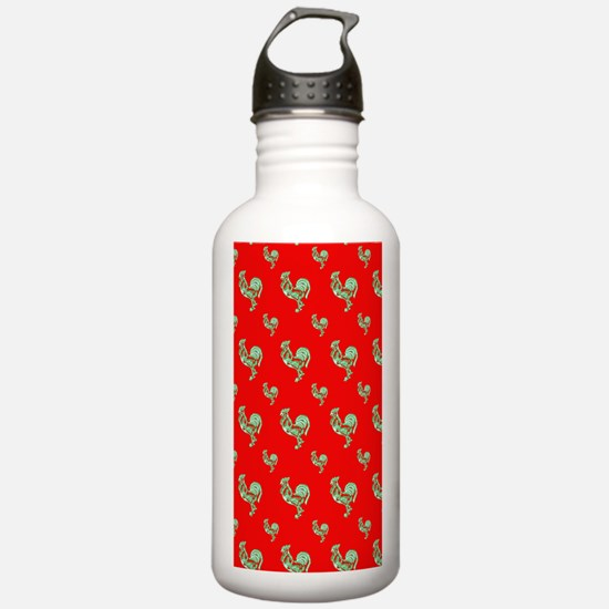 Saucy Rooster Water Bottle