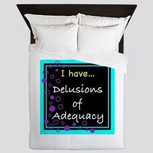Delusions Queen Duvet