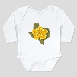89a41c50d16928 Yellow Rose of Texas Infant Bodysuit Body Suit