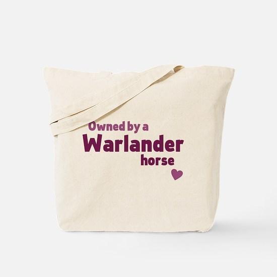 Warlander horse Tote Bag