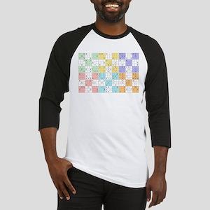 pastel sudoku Baseball Jersey