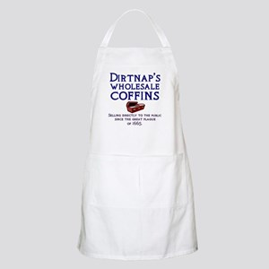 Dirtnap's Wholesale Coffins BBQ Apron