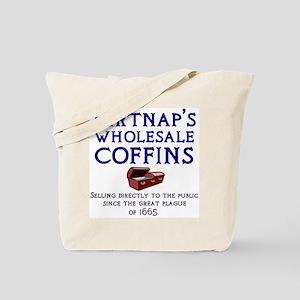Dirtnap's Wholesale Coffins Tote Bag