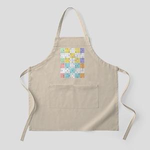pastel sudoku Apron