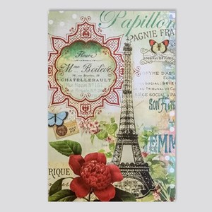 Paris Journal Postcards (package Of 8)