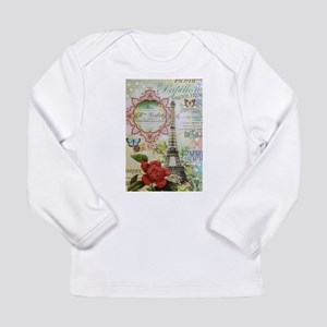 Paris Journal Long Sleeve T-Shirt