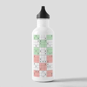 pastel sudoku Stainless Water Bottle 1.0L