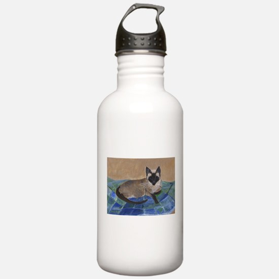 Siamese Napping Water Bottle