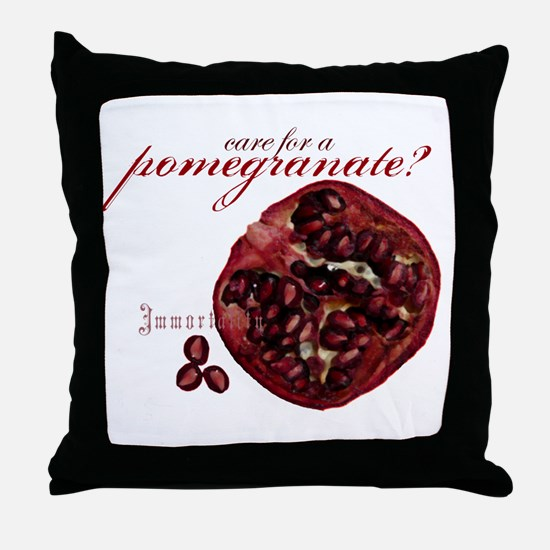 SALE Pomegranate Throw Pillow
