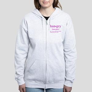hangry Women's Zip Hoodie