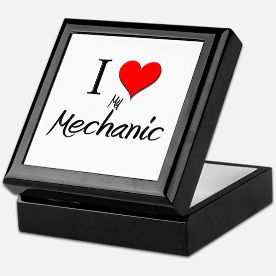 I Love My Mechanic Keepsake Box