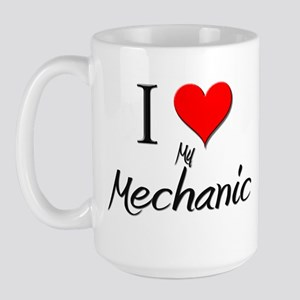 I Love My Mechanic Large Mug