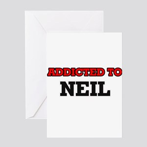 Addicted to Neil Greeting Cards