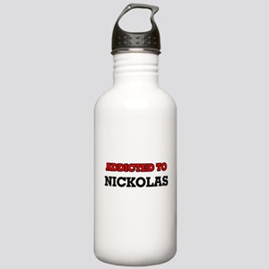 Addicted to Nickolas Stainless Water Bottle 1.0L
