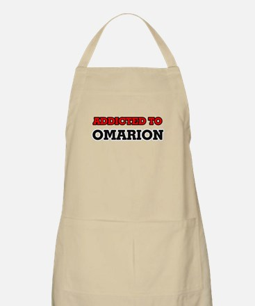 Addicted to Omarion Apron