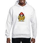Fire Rescue Penguin Hooded Sweatshirt
