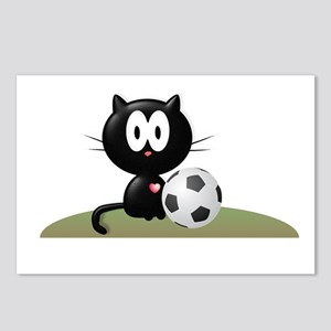 Soccer Kitty Postcards (Package of 8)