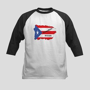 Freakin Rican Baseball Jersey