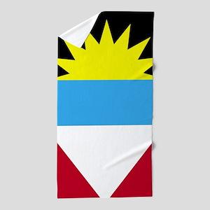 Flag of Antigua and Barbuda Beach Towel