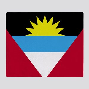 Flag of Antigua and Barbuda Throw Blanket