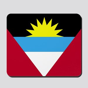 Flag of Antigua and Barbuda Mousepad