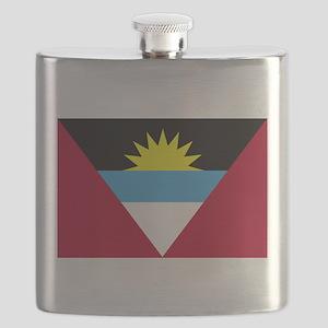 Flag of Antigua and Barbuda Flask