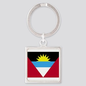 Flag of Antigua and Barbuda Keychains