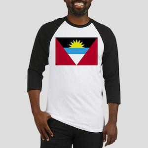 Flag of Antigua and Barbuda Baseball Jersey